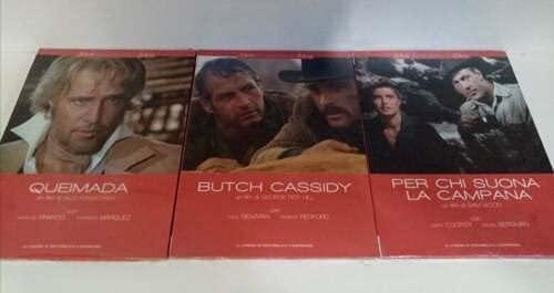 Lotto 3 DVD Butch Cassidy / Queimada / Per chi suona la campana (3 DVD)