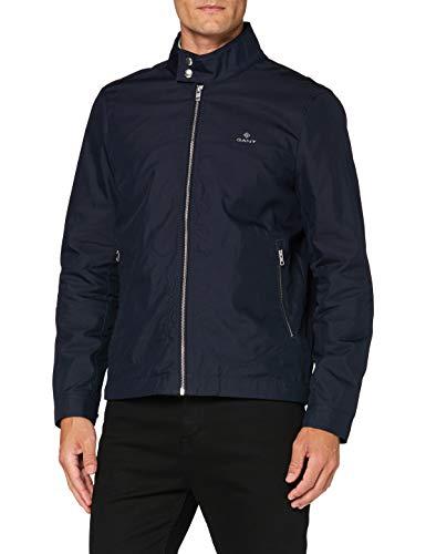 Gant D1. The Casual Shield Jacket Chaqueta, Evening Blue, M para Hombre