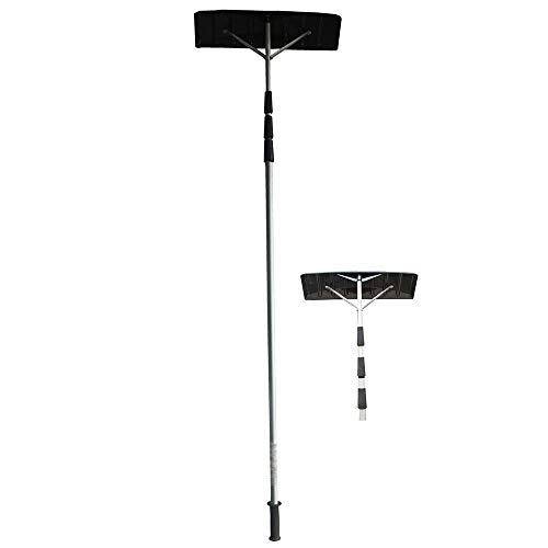 PUDDINGHH® Roof Rake,Snow Remover Brush Removal Tool with Adjustable...