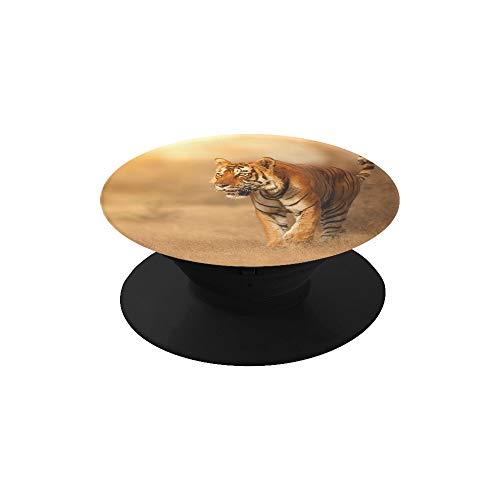 Plsdx Männer Handyhalter Great Tiger Male Natur Habitat Tiger Man Handyhalter Faltbarer Erweiterungsständer Kompatibel mit Fast Allen Handys/Fällen