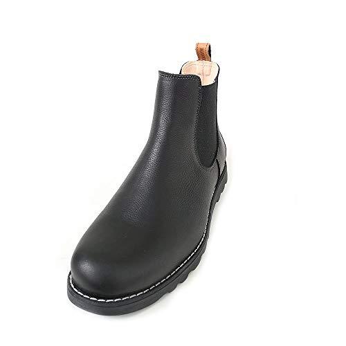 Kavat Herren Bodås Chelsea Boots, Schwarz (Black), 43 EU