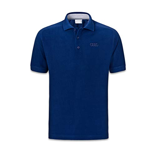 Audi collection 313170090 Audi Poloshirt, Herren, blau, XL