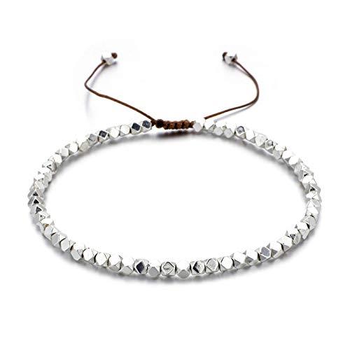 dingtian Bracelet Handmade Weave Beads Bracelets Bohemia Seed Thin Bracelets & Bangles Women Beach Jewelry Adjustable Charms Friendship Gifts