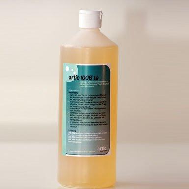 Ölreiniger für Teer Ölfleckentferner biologisch mit Mikroben, Artic 1006 ta für Teer, Asphalt, Bitumen und weiche Oberflächen, 1 Liter (€ 19,00/Liter)