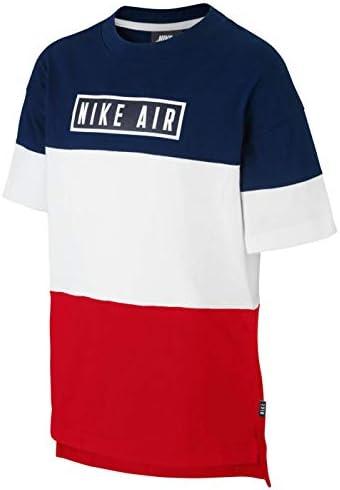 Nike Camiseta Air Marino Rojo para Niños