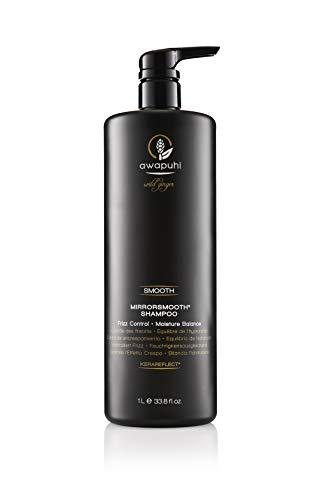 Paul Mitchell Awapuhi Wild Ginger MirrorSmooth Shampoo - Anti-Frizz Shampoo ideal für trockenes, widerspenstiges Haar, feuchtigkeitsspendende Haar-Pflege, 1000 ml