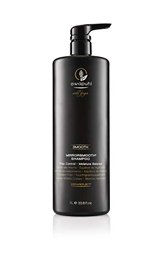 Paul Mitchell Awapuhi Wild Ginger MirrorSmooth Shampoo - Anti-Frizz Shampoo ideal für trockenes, widerspenstiges Haar, feuchtigkeitsspendende Haar-Pflege, 1000 ml