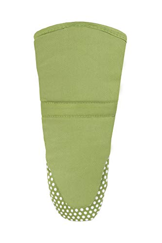 Ritz Royale Cotton Twill Puppet Oven Mitt with Silicone Do...