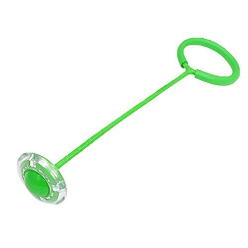 swiftt Boller Kinder LED Blinkender Springring, buntes Sprunggelenk, Glühender Springender Ball, Springseil, Springen,Swing Wheel mit Lichtrad