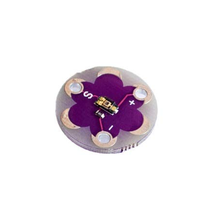 ATMEGA32U4 ATMEGA328P Lilypad 328 für Arduino DIY Kit Micro USB Attiny85 Liltiny Motherboard Summer WS2812 RGB CR2032 TEMT6000 ( Color : TEMT6000 )