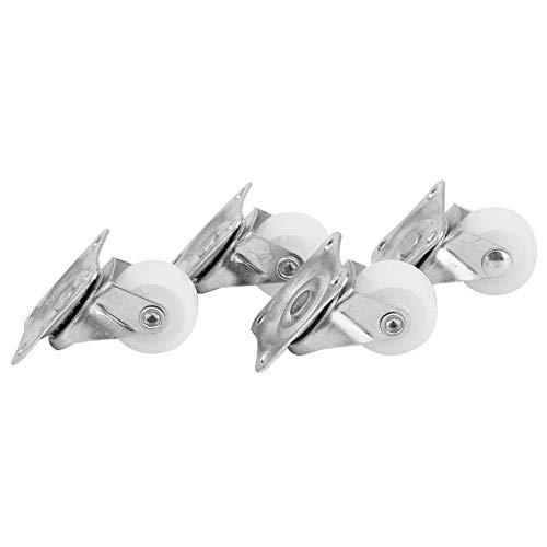 4 Stück Swi-Vel Rollen-1 Zoll Lenkrollen 20 kg Nylonmaterial, verwendet für Einkaufswagen DIY Hilfsmöbel Räder