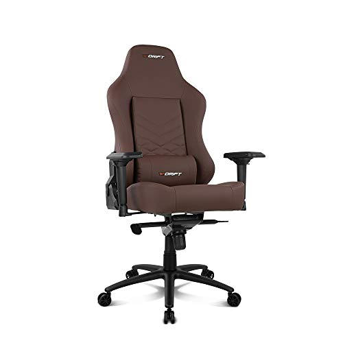 Drift DR550BW - Silla Gaming Profesional, polipiel extra suave,...