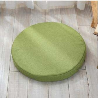 High density sponge pad, Round cushion Chair cushions Seat cushioning Wicker chair padding Yoga mat Fabric thickening cushioning-B diameter 40cm (16inch)