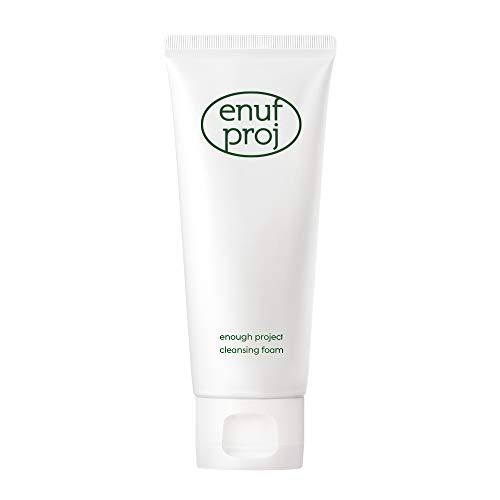 ENOUGH PROJECT Face Cleanser - Hydrating Face Wash - Cleansing Foam Daily Facial Cleanser For Normal, Combination, Oily & Dry Skin - Deep Pore Cleanser, Gentle by Amorepacific 3.52 oz (100g)