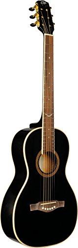 EKO Guitars 06217030 NXT Serie Parlor Akustikgitarre Parlor Schwarz