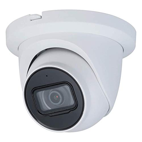 VALUCAM Starlight Outdoor NightVision Weatherproof IPC-HDW2831TM-AS-S2 Security - 4K 8MP IP Dome Camera with Mic Audio 2.8mm Lens Exir 98ft Night Vision Smart H.265+ Support 256GB Micro SD Card IP67
