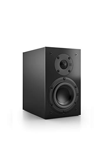 Nubert nuBox 303 Dipollautsprecher | Lautsprecher für Heimkino & HiFi | Musikgenuss auf hohem Niveau | Passive Surroundbox mit 2 Wege Technik | Kompaktlautsprecher Schwarz | 1 Stück