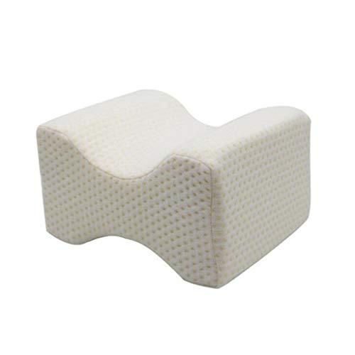 Memory-Schaum-Kissen mit waschbarem Kissenbezug - Orthopädische Unter für Hüfte, zurück (Ischias) oder Schmerzen in den Beinen, Seitenschläfer, Schwangerschaft & Ausrichtung der Wirbelsäule,A