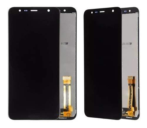 Frontal Touch E Display Para J4 Core, J4+ E J6+ - Cor Preta