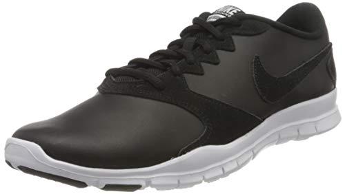 Nike Damen Wmns Flex Essential Tr Laufschuhe, Schwarz (Black/Black/White/Lt Crimson 001), 40 EU