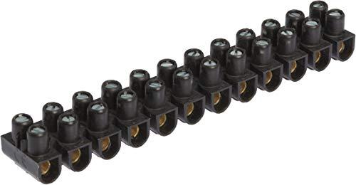 Legrand 098430 Borne de Raccordement Nylbloc, 2.5 mm², 24 A, Noir, Lot de 12