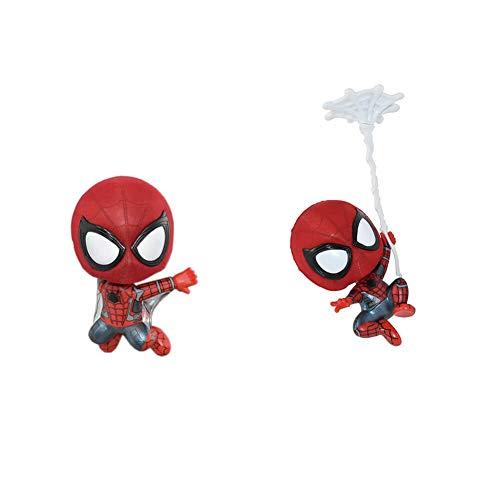 Little Spider Fridge Magnet, Cartoon Version of Spiderman Fridge Magnet, Cute Fridge Magnet(2pcs)