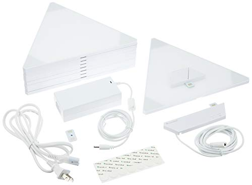 Nanoleaf Aurora Rhythm Smarter Kit スマートLEDパネルキット LE0060 NL28-2006TW-9PK-J 【日本正規代理店...