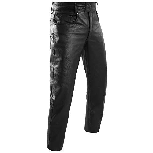 HWK Leather Motorcycle Pants For Men & Women Bikers Rider Moto Racing Riding Pants (WAIST 38)