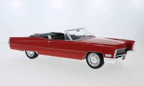Cadillac DeVille Convertible, rot, 1968, Modellauto, Fertigmodell, KK Scale 1:18