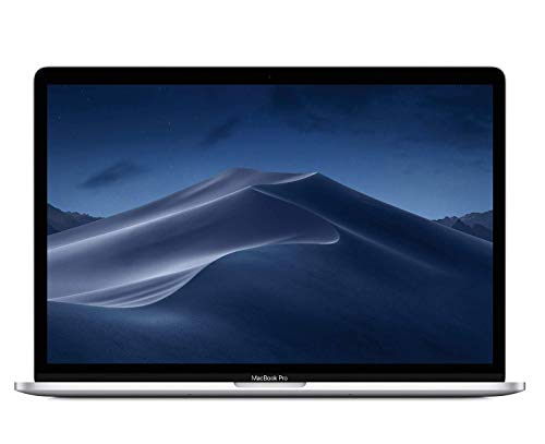 Apple MacBook Pro (15-inch, Latest Model, 16GB RAM, 256GB Storage, 2.6GHz Intel Core i7) - Silver (Refurbished)