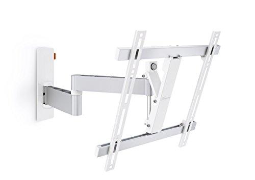 Vogel's WALL 2245 TV-Wandhalterung für 81-140 cm (32-55 Zoll) Fernseher, 180° schwenkbar und neigbar, max. 20 kg, Vesa max. 400 x 400, weiß