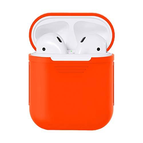 Hexcbay Funda de Silicona Apple AirPods, [Ultra Thin] Funda Protectora portátil a Prueba de Golpes Shell para Apple AirPods1 Auriculares Estuche