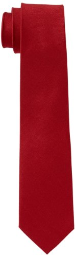 Seidensticker Cravate, Rouge - Rot (45 uni rot), Taille unique Homme