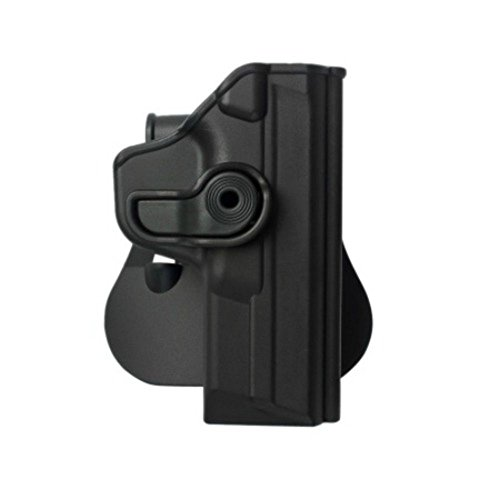IMI Defense Tactical Concealed Polymer Retention Roto Pistol Holster for Smith & Wesson M&P (9mm/.40/357)