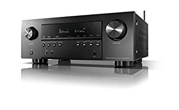 Denon AVR-S960H 8K Ultra HD 7.2 Channel  90Watt X 7  AV Receiver 2020 Model - Built for Gaming Music Streaming 3D Audio & Video Alexa + HEOS Black