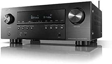 Denon AVR-S960H 8K Ultra HD 7.2 Channel (90Watt X 7) AV Receiver 2020 Model - Built for Gaming, Music Streaming, 3D Audio & Video, Alexa + HEOS, Black