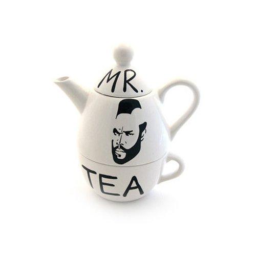 Mr. T Parody Tea For One Set