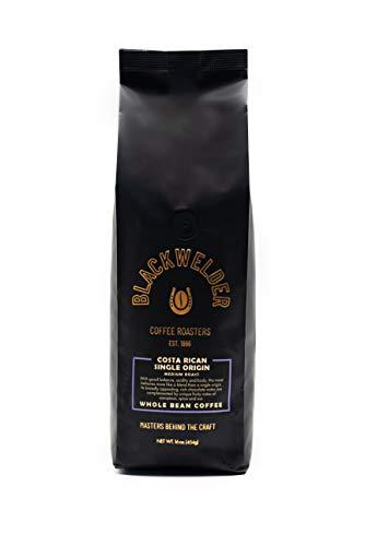 Blackwelder Coffee, Costa Rican Roast Coffee Beans (1 Pound Whole Bean), Single Origin, Fresh Roasted Whole Bean Coffee
