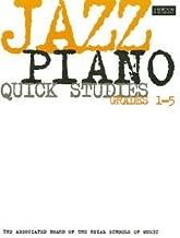 ABRSM Jazz Piano: Quick Studies Grades 1-5