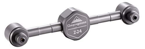 キャンピングムーン(CAMPING MOON) OD缶 ガス2分岐アダプター ガスキャンドル ガスランタン 分離アダプター ねじ込み式 ガスステーション