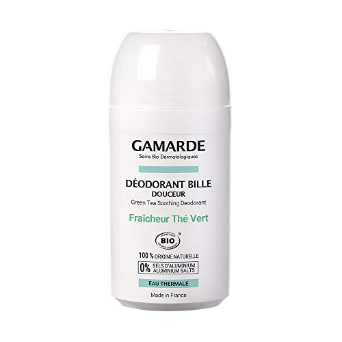 Gamarde Hygiène Douceur Déodorant Bille Douceur Bio 50 ml - Fraîcheur Thé Vert