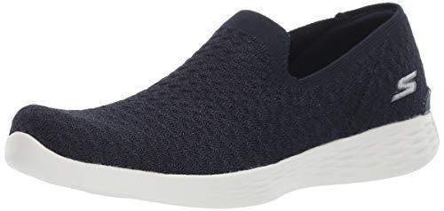 Skechers Women You Define-Devotion Sneaker, Navy/White, 11 M US