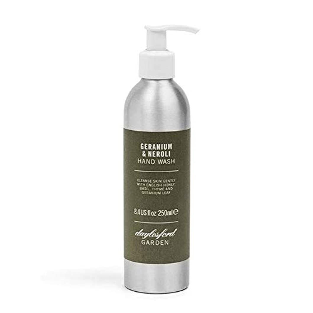 [Daylesford ] デイルスフォードの自然ゼラニウム&ネロリのハンドウォッシュ250ミリリットル - Daylesford Natural Geranium & Neroli Hand Wash 250ml [並行輸入品]