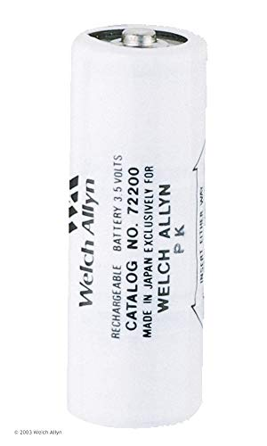 Welchallyn 72200 Replacement NiCad Rechargeable Battery (black) for 71000 and 71670