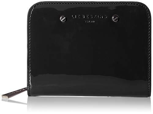 Liebeskind Berlin Cartera para Mujer Paconnyh8 Venus, Color Negro, Talla 2x10x13 cm
