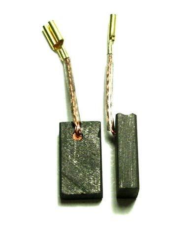 MGE escobillas de carbón Gomes, Compatible Bosch GPO 12 CE, GPO 14 CE, GP 712 VS