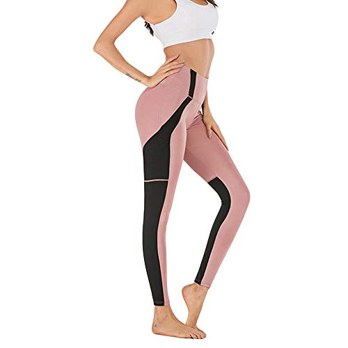 Yoga BH-tops,Yoga fitness legging, strakke legging-Pink_Large_China, Yoga open rug trainingskleding