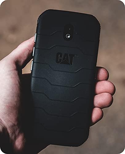 Smartphone CAT S42H+ (Pantalla HD + (5,5 Pulgadas), Memoria Interna de 32 GB y 3 GB de RAM, Doble SIM, Android 10) Negro - Bienes Importados