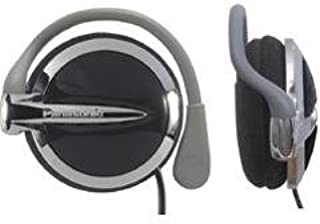 Panasonic RP-HS43 Clip-On Headphones with XBS Extra Bass System (Black) (Discontinued by Manufacturer)