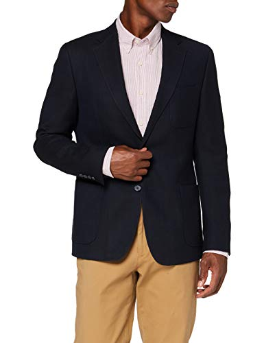 Strellson Premium Herren Acker 12 Blazer, Blau (Dark Blue 401), (Herstellergröße: 44)